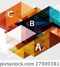 triangle abstract vector 27900381