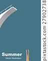 矢量 夏天 夏 27902738