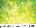 Vector green lights background. 27904801