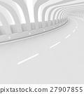 White Road Background 27907855