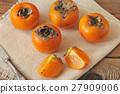 persimmon, fruit, orange 27909006