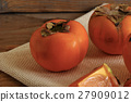 background, persimmon, fruit 27909012