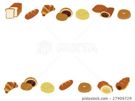 빵, 프레임, 틀 27909729