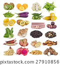 set of fruit and vegatable 27910856
