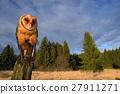 wildlife tree stump 27911271