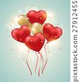 心 氣球 汽球 27912455