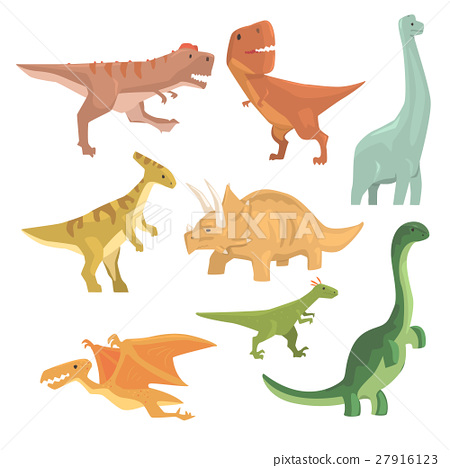 Dinosaurs Of Jurassic Period Collection Of 27916123