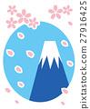 春天 春 樱花 27916425