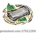 konnyaku, brush writing, arum root 27922269