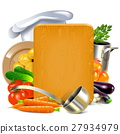 Vector Cooking Board 27934979