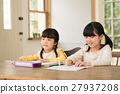 studying, girl, young 27937208