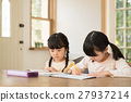 studying, girl, young 27937214
