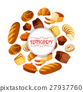 bakery, bread, vector 27937760