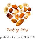 bakery, bread, vector 27937819