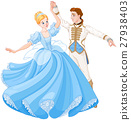 The Ball Dance of Cinderella and Prince 27938403