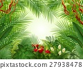 Seamless with Tropical forest background 27938478