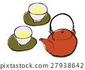茶壺 茶 茶杯 27938642