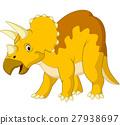 Cartoon triceratops 27938697