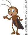 คริกเก็ต,แมลง,เวกเตอร์ 27939012