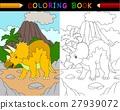 triceratops, animal, dino 27939072