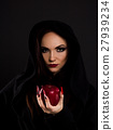 Stepmother gives poisoned red apple 27939234