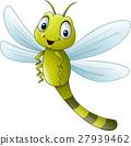 Cartoon dragonfly 27939462