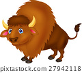 Bison cartoon 27942118