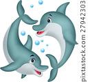 海豚 动物 矢量 27942303