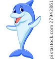 动物 海豚 矢量 27942861