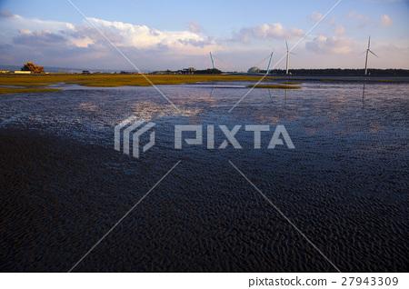 高美溼地,Taiwan, Taichung, high US wetlands,Gaomeiの湿地 27943309