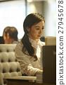 辦公室形象婦女 27945678