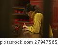 女性年轻工匠形象 27947565