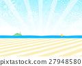 해변 불꽃 놀이 27948580