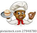 baker black cartoon 27948780