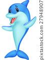 海豚 动物 矢量 27948907