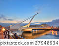 The Samuel Beckett Bridge 27948934