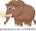 Cute mammooth cartoon 27949485