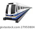 Bangkok skytrain icon vector illustration 27950804