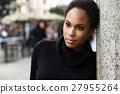 女人 女性 黑色 27955264