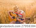 吉他 玩耍 玩 27956384