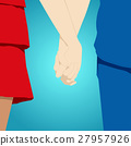 Shot of friendship and love of man and woman 27957926