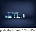 Station Gas. Concept power vector illustration 27957957