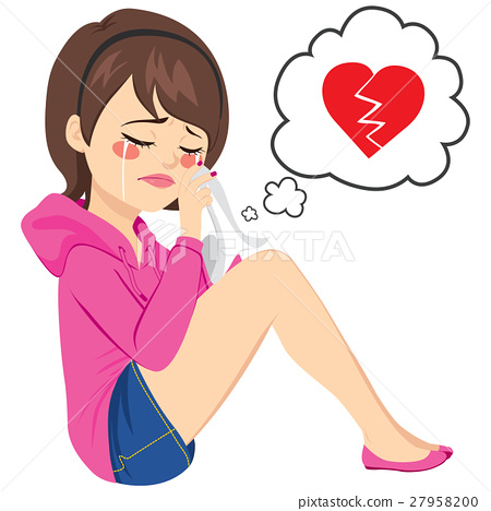 Broken Heart Woman Crying 27958200