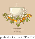 cup of buckthorn tea 27959812