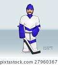 stick hockey vector 27960367