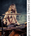 drum long hair 27960510