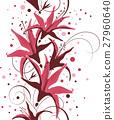 Seamless floral design 27960640