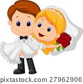 新郎 新娘 婚禮 27962906