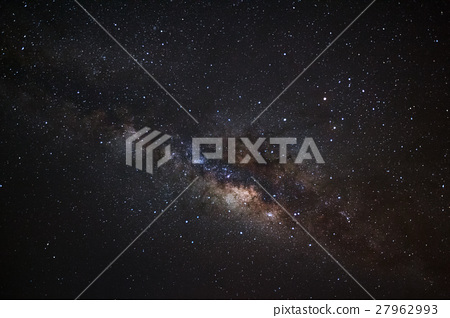 Milky Way Galaxy, Long exposure photograph 27962993