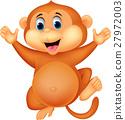 Cute monkey cartoon 27972003